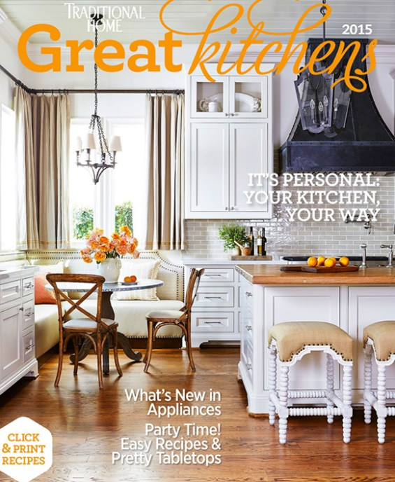 Great Kitchens Issue, Traditional Home www.CourtneyPrice.com