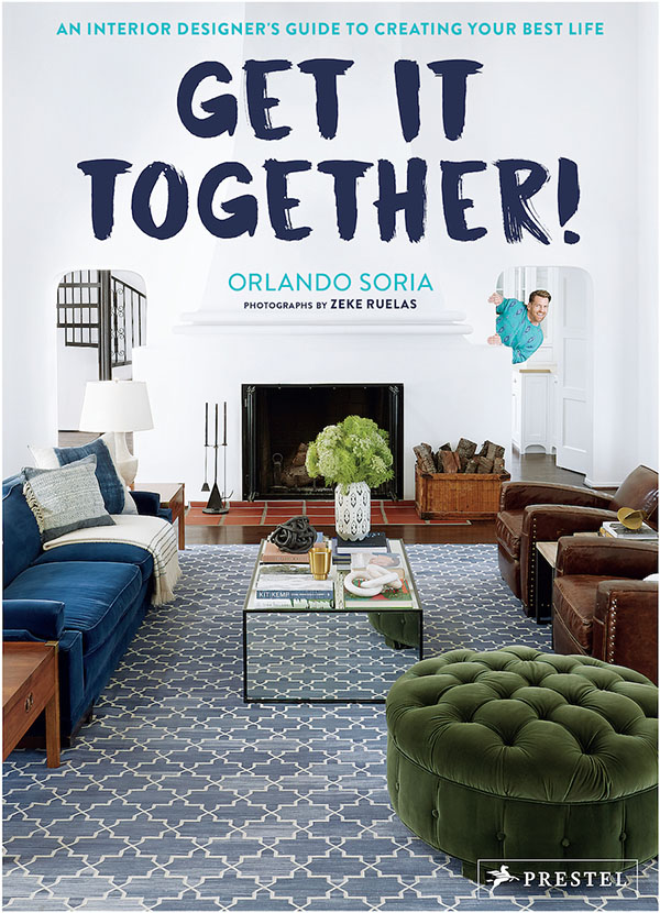 Book preview and Interview with Orlando Soria of GET IT TOGETHER! on www.CourtneyPrice.com