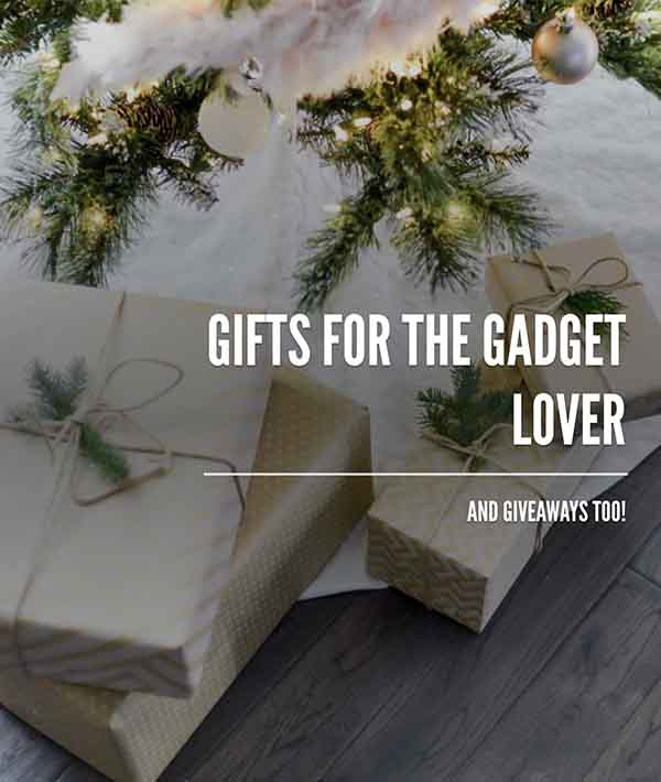 Gadget gifts and giveaways on www.CourtneyPrice.com