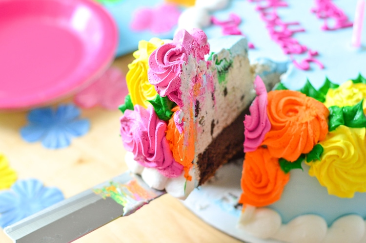The Almost Perfect Mother S Day P S Ice Cream Cake Baskin Robbins Courtney S Sweets