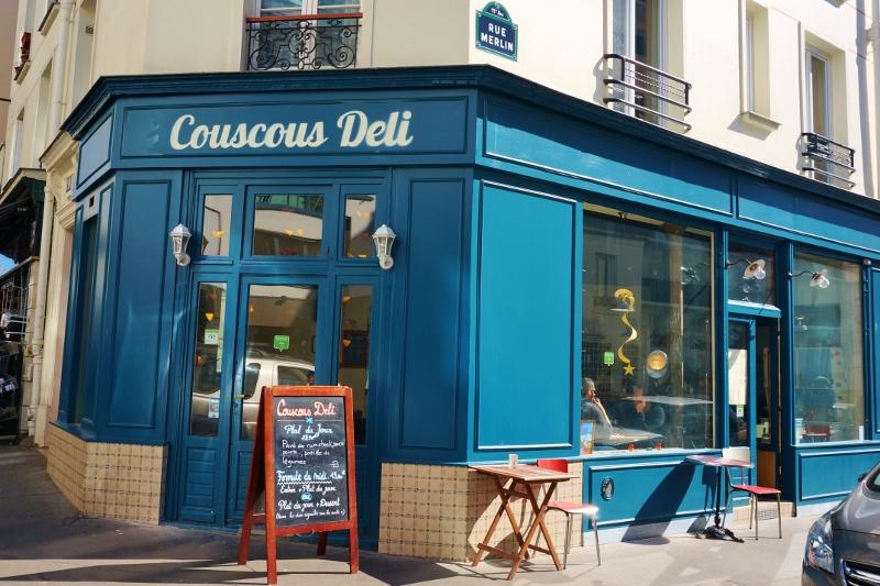 Couscous Deli - devanture - 128 rue du Chemin Vert - Paris 11
