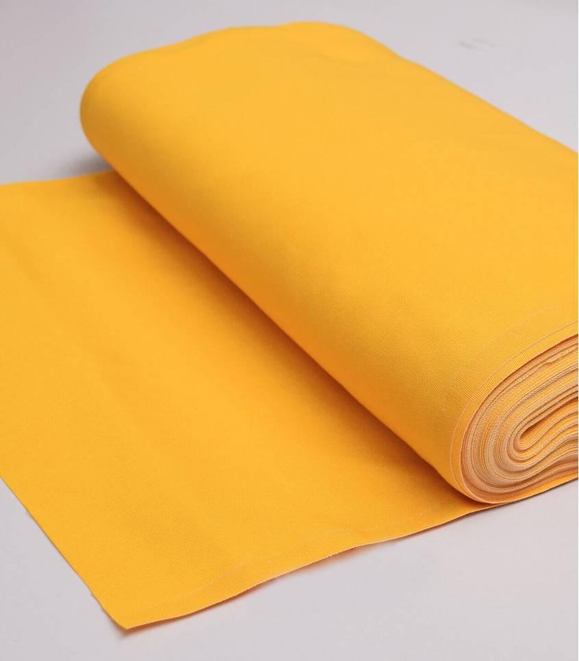 tissu toile transat jaune