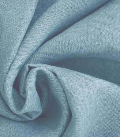 tissu lin lave bluestone
