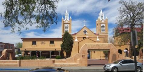 San Felipe Church in Albuquerque Old Town
