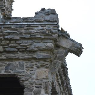 The Dragon gargoyle on Gillette Castle