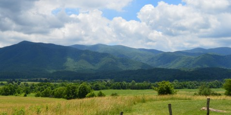 The Great Smoky Mountains from Cades Cove