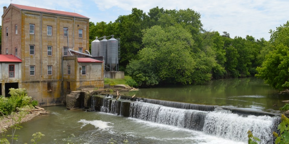 Weisenberger Mill and river