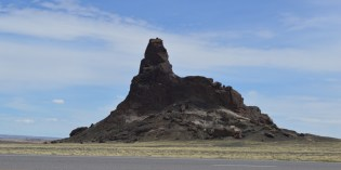 Outcrop near Shiprock