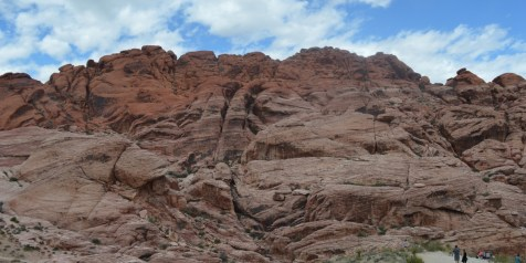 Red Rock Canyon just west of Las Vegas