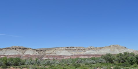 Capitol Reef N.P. - multi colored hills