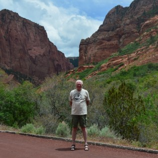 Kolob Canyon and Tony - just to prove I was there