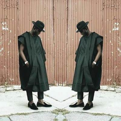 agbada with fowler hat image