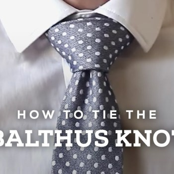 How to tie the Balthus Knot image