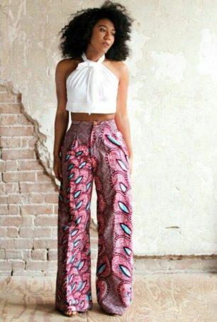 Ankara fashion jumpsuit image