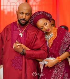 banky w and adesua Yoruba traditional wedding attire (15)