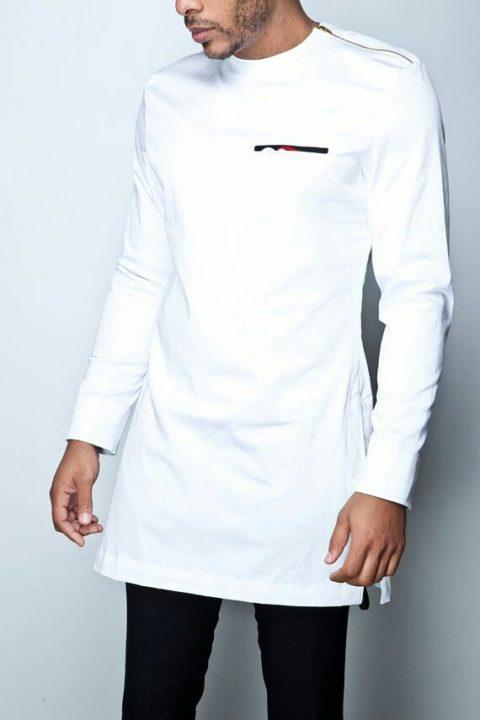 white senator suit style