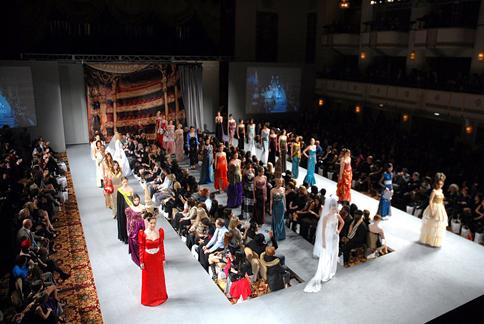 Andres Aquino fashion show