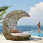 Skyline Drone Daybed Couture Outdoor