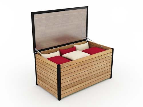bermuda cushion storage box