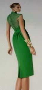 Robe verte style SS dress