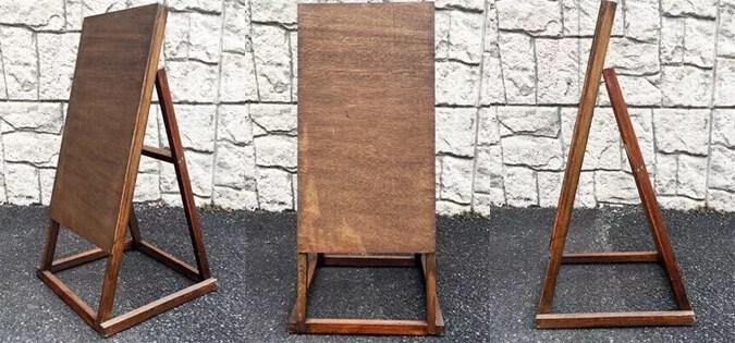 木製スタンド看板L型