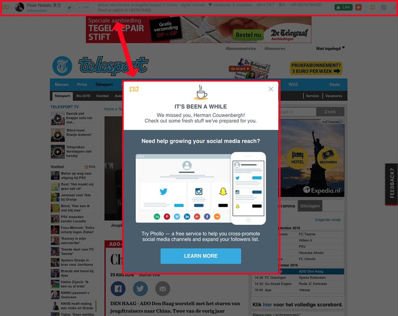 Link.is werkt niet als goede contentmarketing tool