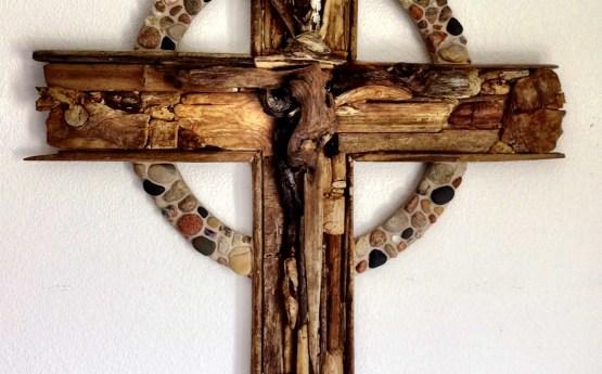 Driftwood Cross Art Project