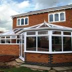 Leamington Spa Shaped conservatory Coventry