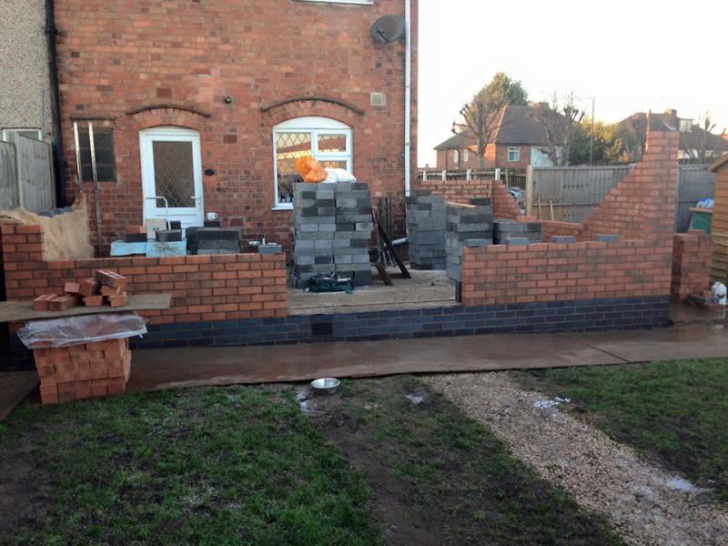 Conservatory brick works 1
