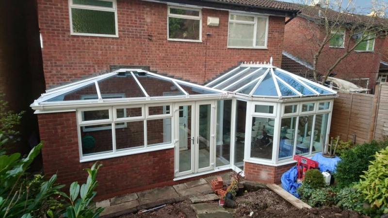 Extension to Victorian conservatory