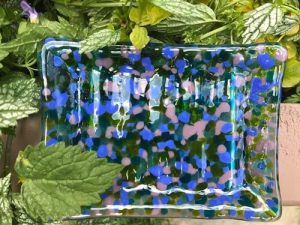 fused glass handmade soap dish small 2 - fused-glass-handmade-soap-dish-small-2