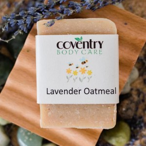 lavender oatmeal handmade soap bar - Lavender Oatmeal Soap Bar