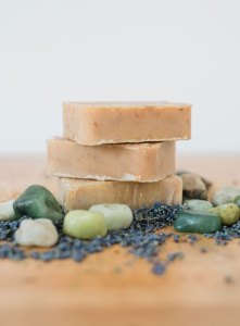 stack of handmade soap - stack-of-handmade-soap