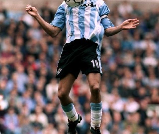 Coventry Citys Moustapha Hadji Controls The Ball On His Chest While In Mid Air