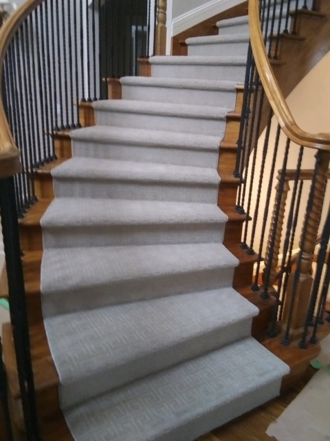 Custom Stair Runners Beautify Your Home – Coventry Flooring   Best Carpet Padding For Stairs   Landing   Moisture Barrier   Install   Flooring   Wooden Stairs
