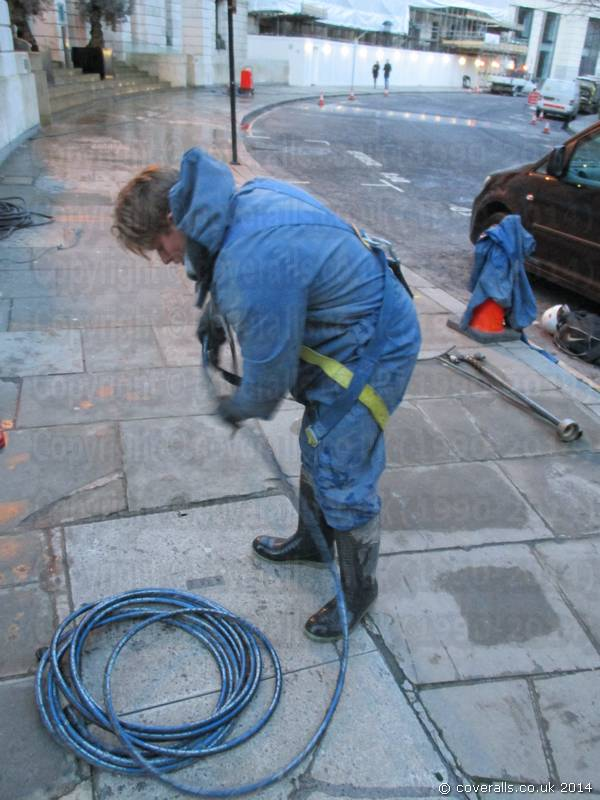 Jet Washer Waterproof Coverall Suit