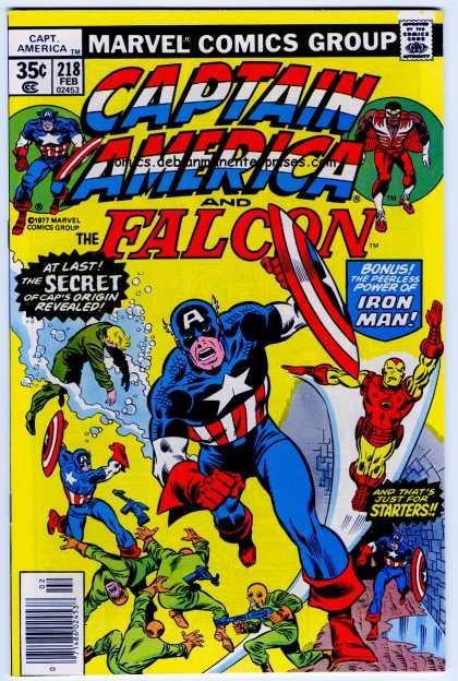 Captain America 218 - Sal Buscema