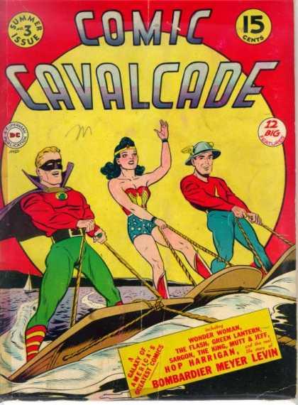 Comic Cavalcade cover