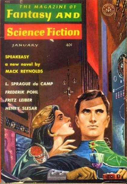 Fantasy and Science Fiction 140