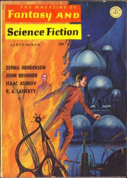 Fantasy and Science Fiction 184