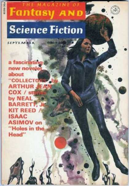 Fantasy and Science Fiction 244