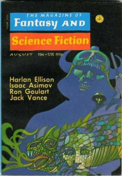 Fantasy and Science Fiction 255