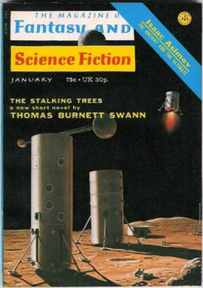 Fantasy and Science Fiction 260
