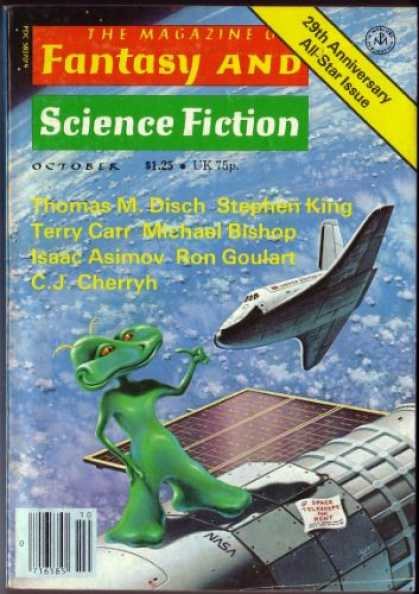Fantasy and Science Fiction 329