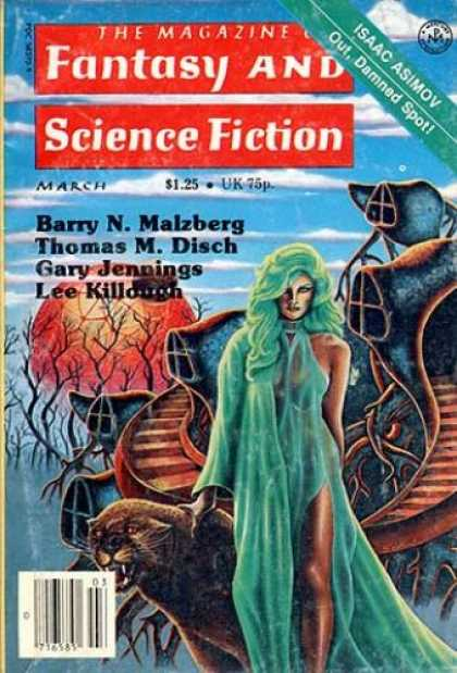 Fantasy and Science Fiction 334