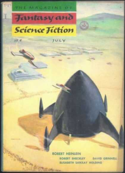 Fantasy and Science Fiction 38