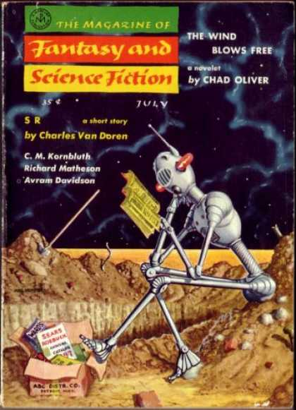 Fantasy and Science Fiction 74