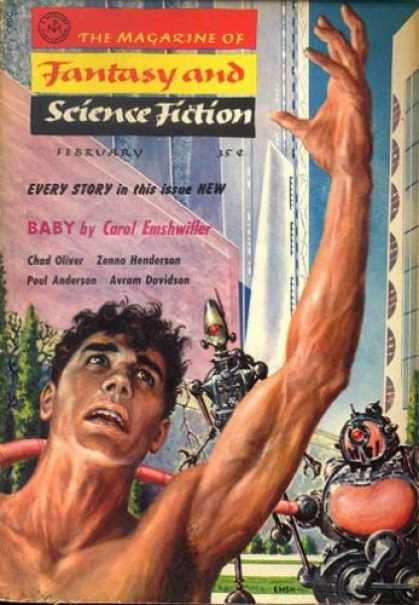 Fantasy and Science Fiction 81