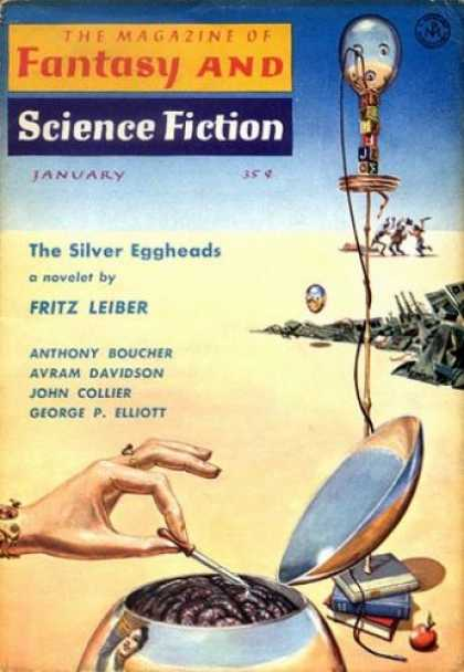 Fantasy and Science Fiction 92