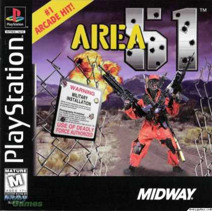 Area 51: PS1